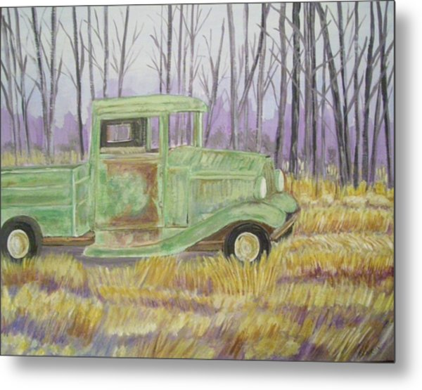 1932  Greenford Pickup Truck Metal Print