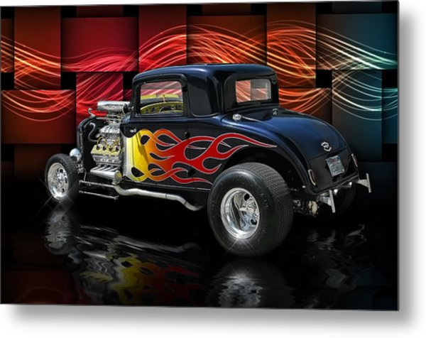 1932 Plymouth Coupe .... Metal Print by Rat Rod Studios