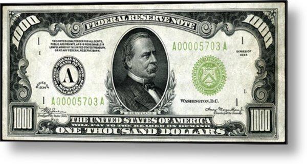 1934 One Thousand Dollar Bill