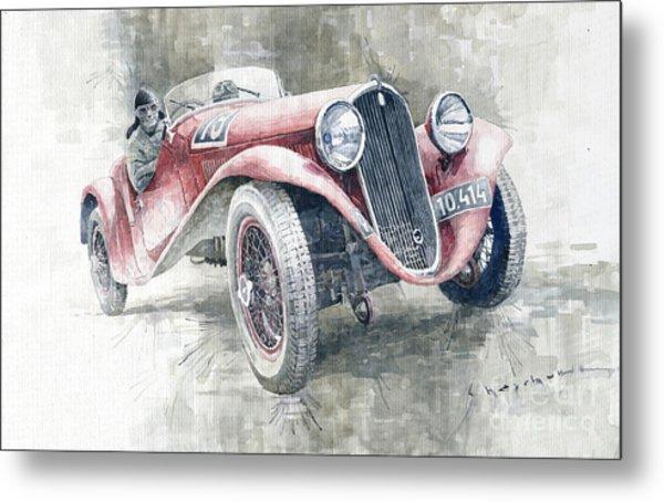 1934 Walter Standart S Jindrih Knapp 1000 Mil Ceskoslovenskych Winner  Metal Print