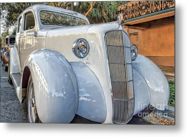 1935 Plymouth Coupe - Series 1 Of 3 Metal Print