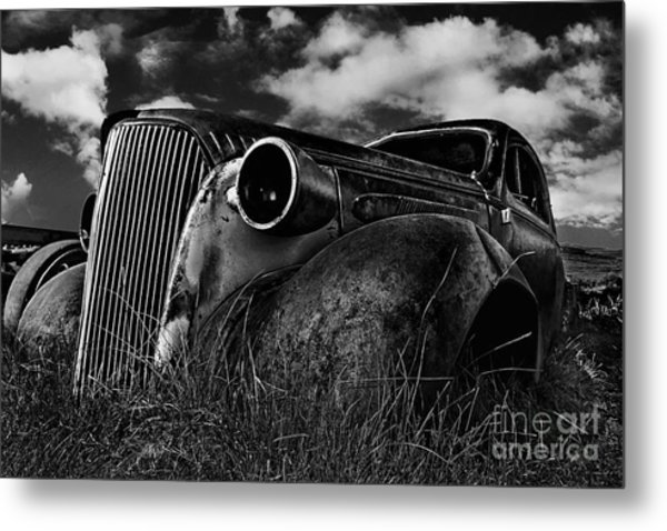 1937 Chevy Coupe Metal Print