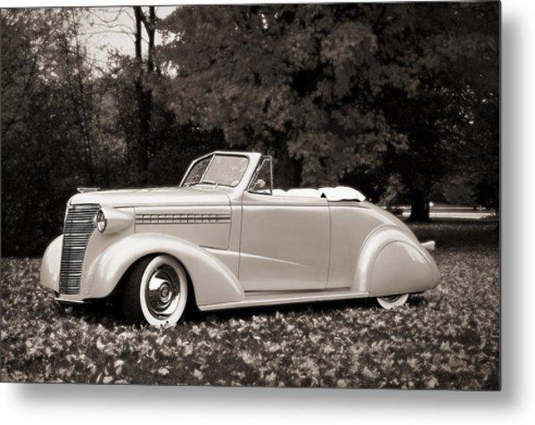 1938 Chevrolet Convertible Metal Print