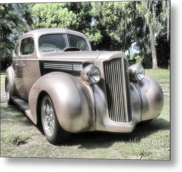 1939 Packard Coupe Metal Print
