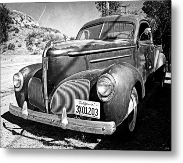 1939 Studebaker Coupe Truck Metal Print by Glenn McCarthy Art and Photography