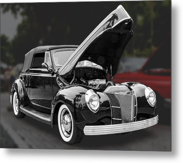 1940 Ford Deluxe Automobile Metal Print
