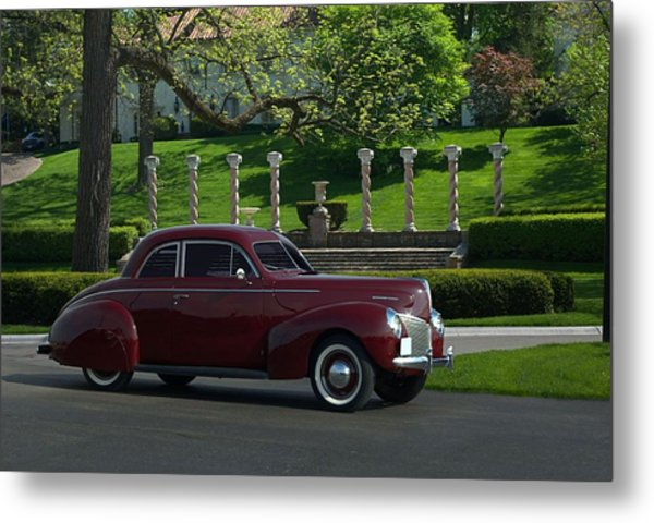 1940 Mercury Coupe Metal Print