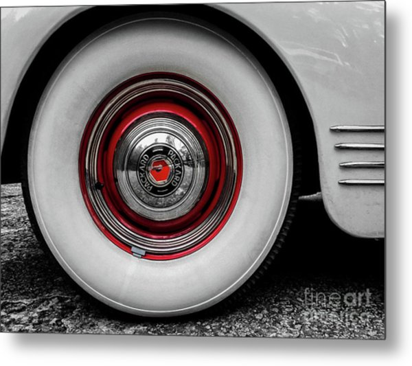 1941 Packard Convertible Wheels Metal Print