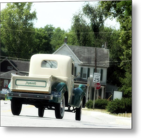 1941 Plymouth  Metal Print by Steven Digman