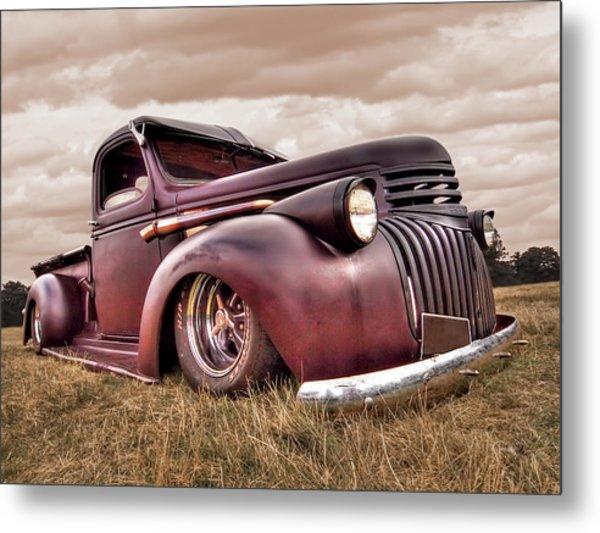 1941 Rusty Chevrolet Metal Print