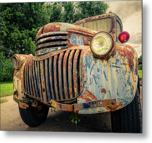 1946 Chevy Work Truck Metal Print
