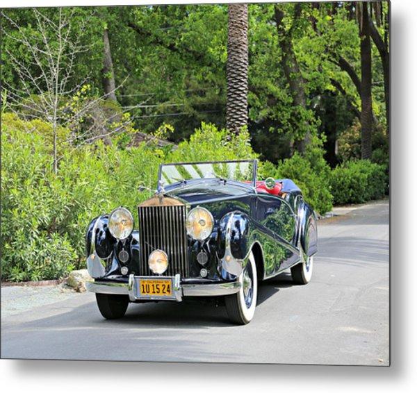 1947 Inskip Rolls Royce Metal Print