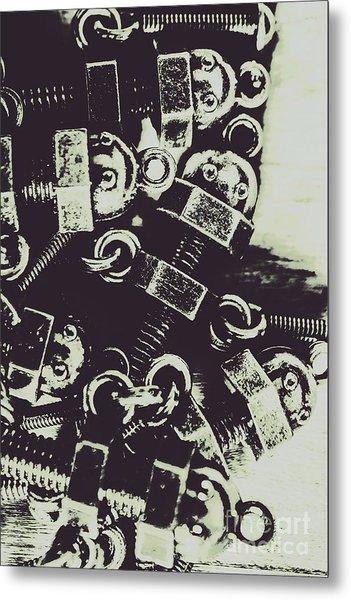 1947 Nutters Metal Print