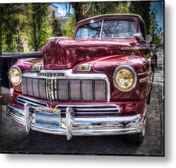 1948 Mercury Convertible Metal Print