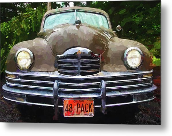 1948 Packard Super 8 Touring Sedan Metal Print