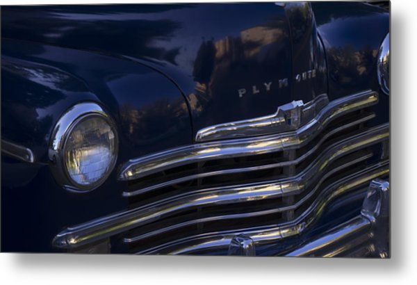 1949 Plymouth Deluxe  Metal Print