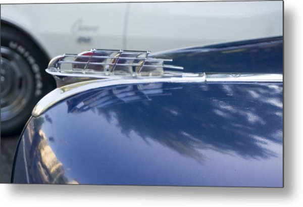 1949 Plymouth Super Deluxe Metal Print