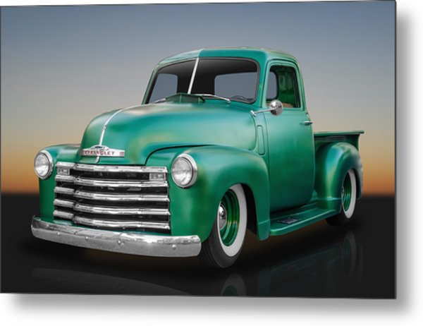 1950 Chevy Pickup Truck Metal Print