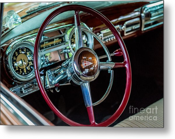 1951 Hudson Hornet Metal Print