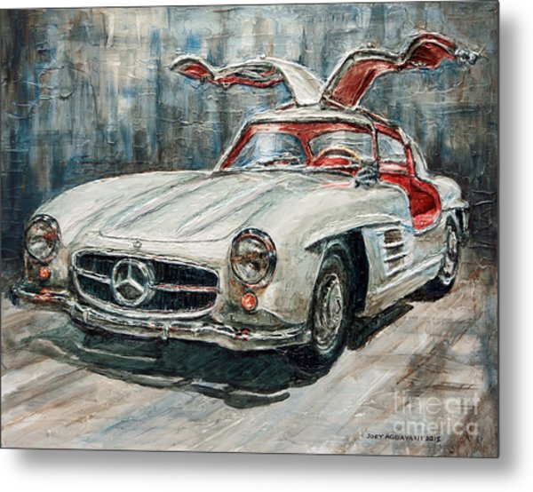 1954 Mercedes Benz 300 Sl Gullwing Metal Print
