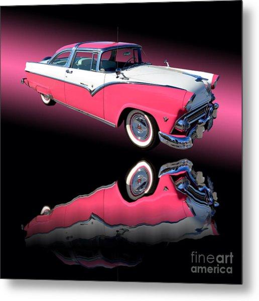 1955 Ford Fairlane Crown Victoria Metal Print