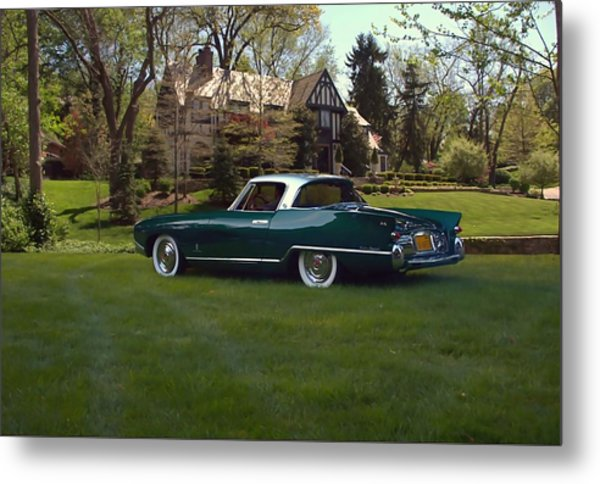 1956 Nash Rambler Palm Beach Coupe Metal Print