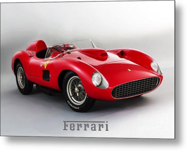 1957 Ferrari 335 S Spider Scaglietti. Metal Print