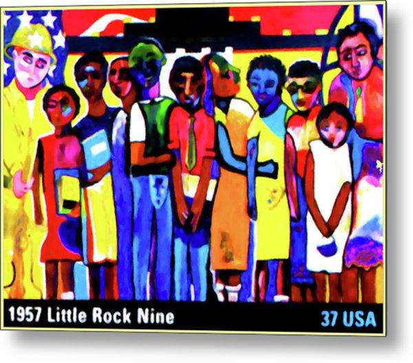 1957 Little Rock Nine Metal Print