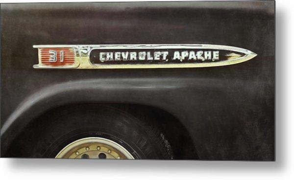 1959 Chevy Apache Metal Print