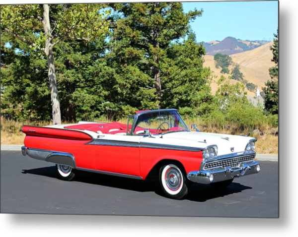 1959 Ford Fairlane 500 Metal Print