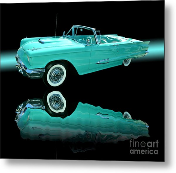 1959 Ford Thunderbird Metal Print