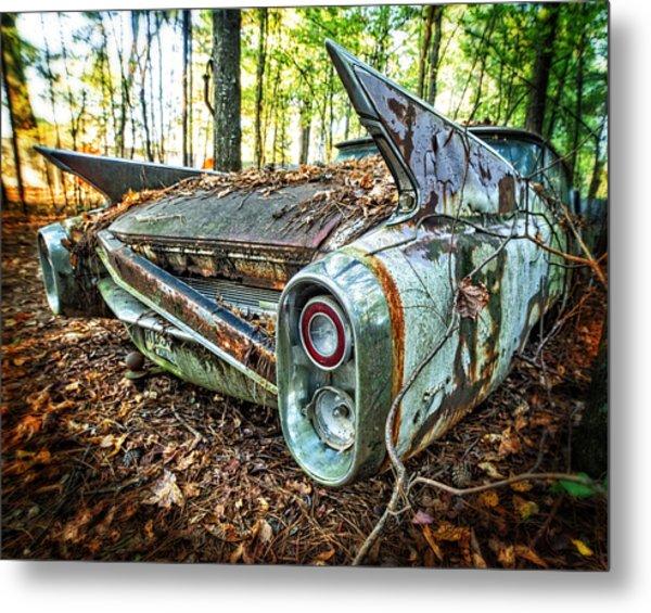 1960 Cadillac At Rest Metal Print