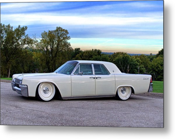 1961 Lincoln Continental Metal Print