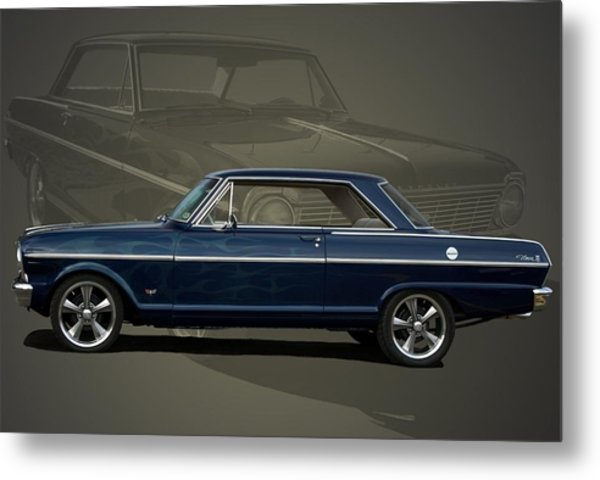 Metal Print featuring the photograph 1963 Chevy II Nova by Tim McCullough