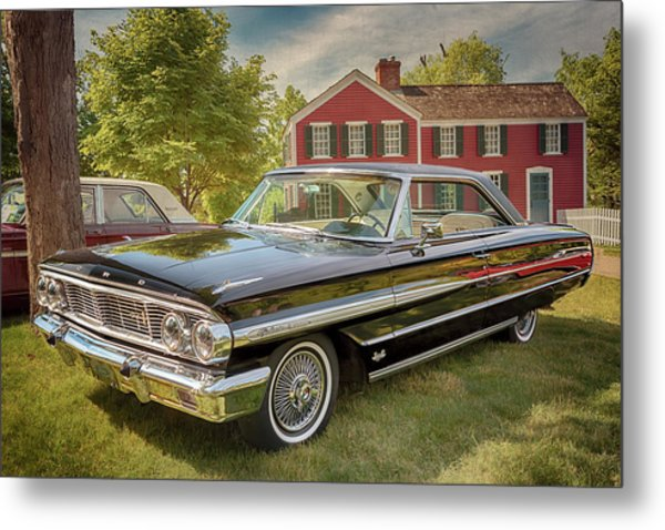 Metal Print featuring the photograph 1964 Ford Galaxie 500 Xl by Susan Rissi Tregoning