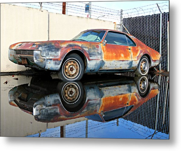 1966 Toronado In Decay  Metal Print