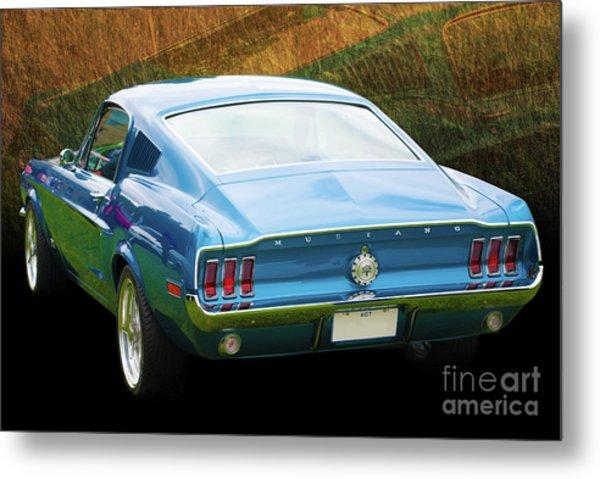 1967 Mustang Metal Print