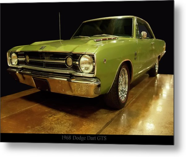 Metal Print featuring the photograph 1968 Dodge Dart Gts by Chris Flees