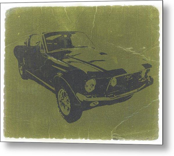 1968 Ford Mustang Metal Print