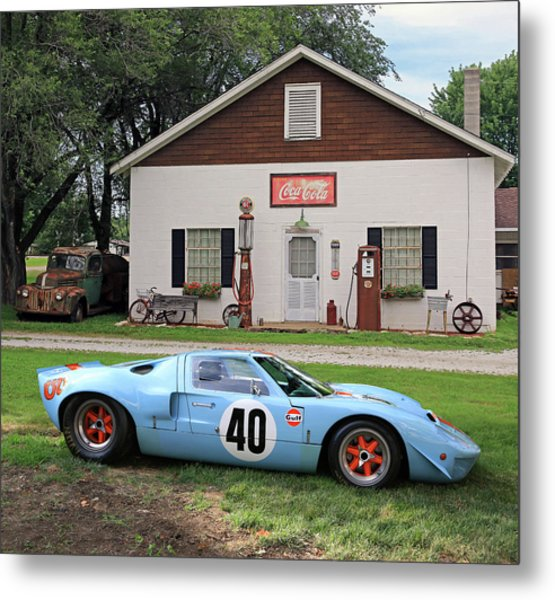 1968 Gulf Mirage In Missouri Metal Print