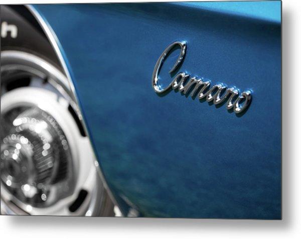 1969 Chevrolet Camaro Z28 Emblem Metal Print