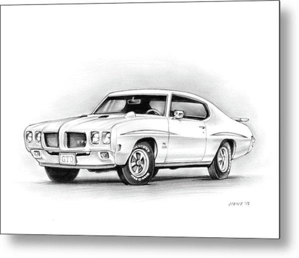 1970 Pontiac Gto Judge Metal Print