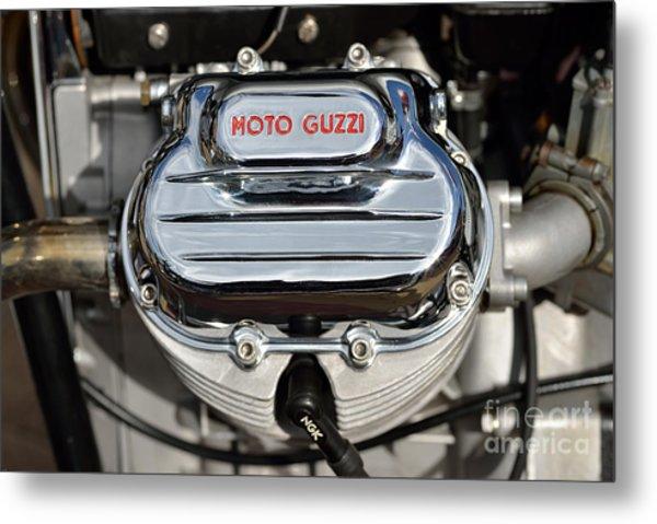1972 Moto Guzzi V7 Cylinder Head Metal Print