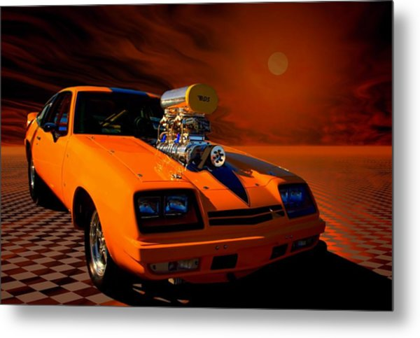 1977 Chevrolet Monza Dragster Metal Print