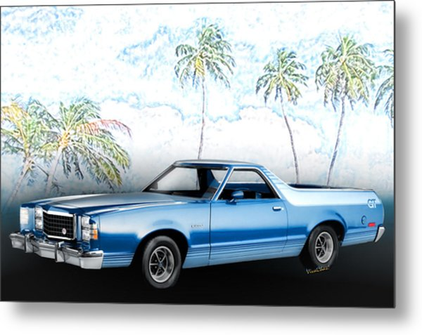 1979 Ranchero Gt 7th Generation 1977-1979 Metal Print