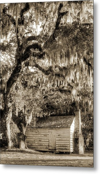 19th Century Slave House Metal Print