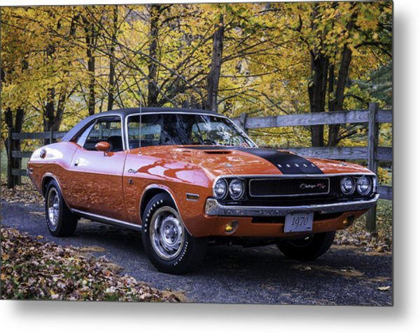 1970 Dodge Challenger Rt  Metal Print