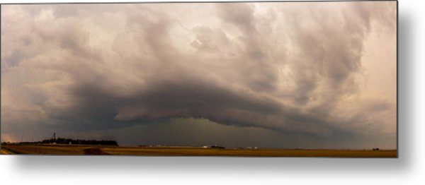 3rd Storm Chase Of 2015 Metal Print