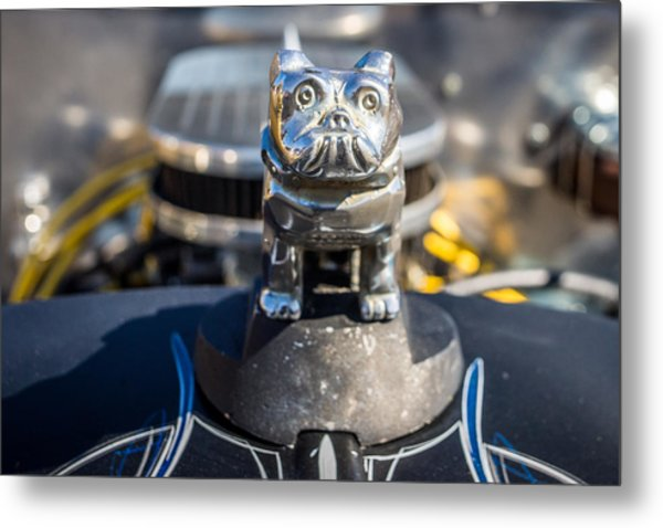Metal Print featuring the photograph 51 Ford F-1 Rat Rod - Ehhs Car Show by Michael Sussman