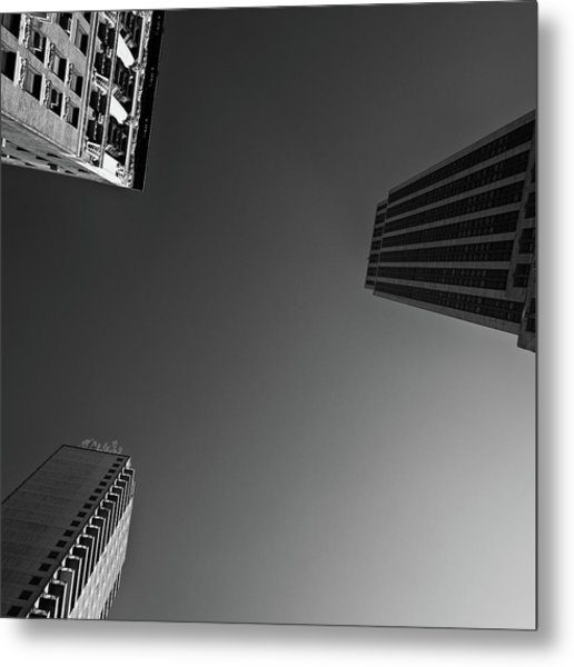 Abstract Architecture - New York Metal Print